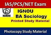 BA IGNOU Sociology Study Material( IAS /PCS/NET Exam)(Photocopy Notes)