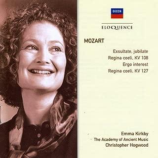 Mozart: Exsultate Jubilate K165 / Regina Coeli