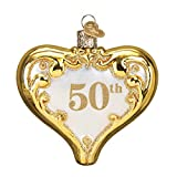 Old World Christmas 50th Anniversary Heart