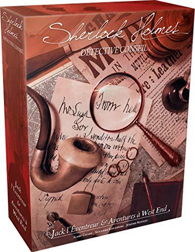 Sherlock Holmes : Jack L'Éventreur & Aventures À West End   Juego de mesa   Edición Francesa