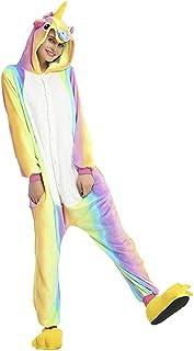 Pijama Kigurumi Do Unicórnio Colorido Igual Ao Da Foto!