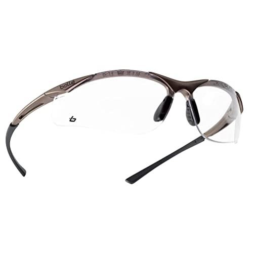 6d17f52f531 Bolle CONTPSI Contour Safety Glasses - Clear