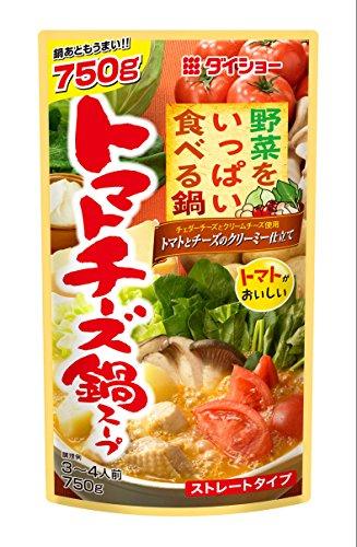 ダイショー 野菜をいっぱい食べる鍋 トマトチーズ鍋 750g×10袋 鍋の素