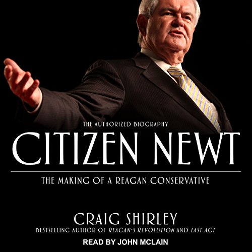 Citizen Newt audiobook cover art