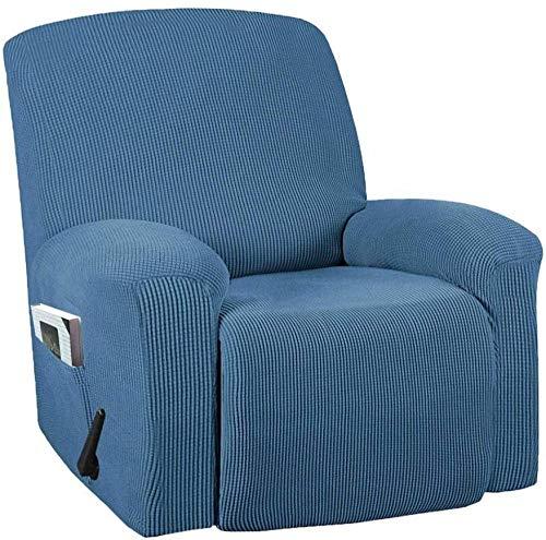 YUNZHONG Funda elástica para sillón reclinable de poliéster, antideslizante, suave, adecuado para niños, tamaño estándar de mascotas_B