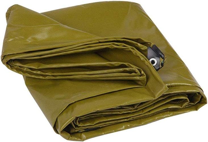 Liul Baches De Prougeection Polychlorure De Vinyle Enduit Baches Auvents Auvent Extérieur Résistant à l'usure Anti-age550g   M2,12 Tailles,Vert d'herbe,vertgrass-5X7m