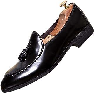 Sunny/&Baby Chaussures /à Lacets pour Hommes Noir Oxford /à Talons daffaires avec Cuir PU Splice Respirant Toile Vamp R/ésistant /à labrasion Color : Orange, Taille : 38 EU