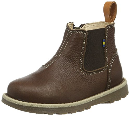 Kavat Unisex-Kinder Nymölla EP Chelsea Boots, Braun (Brown 919), 25