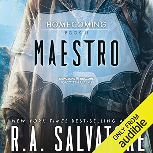 Maestro Audiobook By R. A. Salvatore cover art