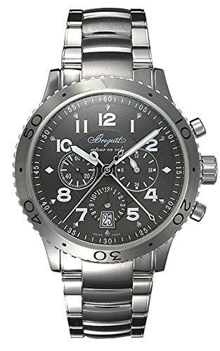 (ブレゲ) BREGUET 腕時計 タイプXX�T 3810ST/92/SZ9 グレー メンズ [並行輸入品]