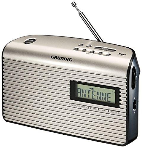 Grundig Music 7000 DAB+ Radio, schwarz/silber
