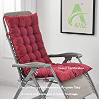 Brand: AMZ Color: Maroon Material: Cotton With Finest Microfiber Filling Size: 48 x 16 Inches Product Type: Chair Pad/ Cushion