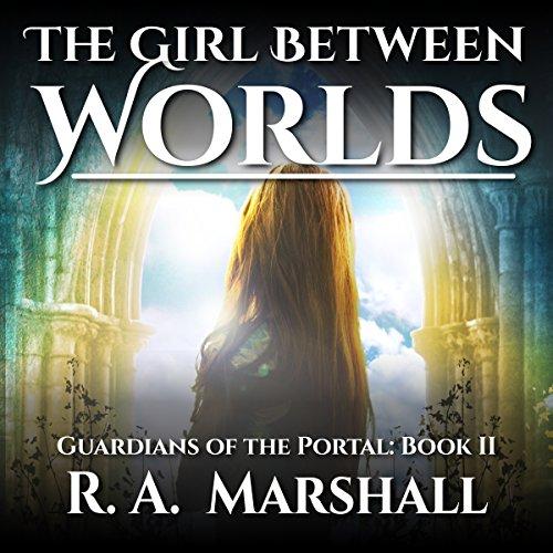 The Girl Between Worlds audiobook cover art
