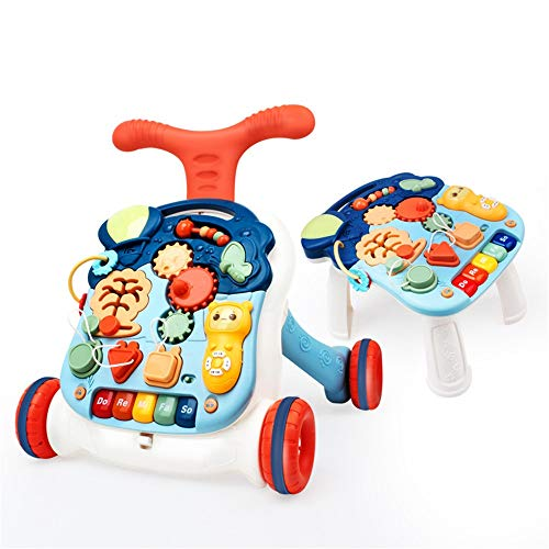 Great Features Of Limaomao Baby Walker with Wheel Walker Baby Walker with Song Toys, 6 Months of Stu...