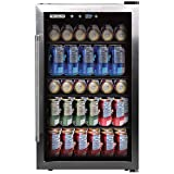 FRIGIDAIRE EFMIS155 Beverage Center-126 Cans-Full Stainless Steel, 126-CAN