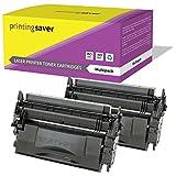 Printing Saver 2x NERO Toner compatibili per HP LaserJet Enterprise M506dn, M506n, M506x, MFP M527dn, M527f, Flow MFP M527c, M527z, HP LaserJet Pro M501dn, M501n stampanti