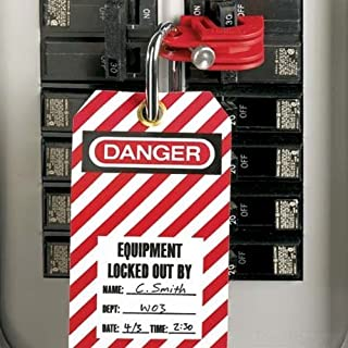 Panduit PSL-CBNT-V No Tool Universal Circuit Breaker Lockout (5-Pack)