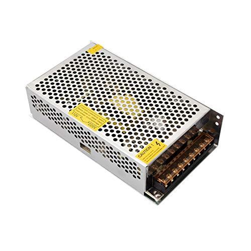 Redrex 12V 20A Fuente de Alimentación 240W Transformador para Impresoras 3D Tira LED Luces Proyecto Ordenador de Circuito Cerrado de Televisión