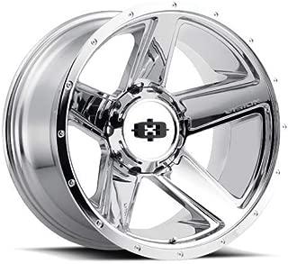 VIS-VOR 4 Vision 390 Empire 20x9 5x5.5 +18mm Chrome Wheels Rims 20