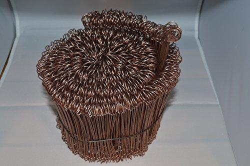 Preisvergleich Produktbild 1000 Drahtsackverschlüsse 1, 0 X 200 (f. Weide,  Zaun, Säcke, Beutel usw.)