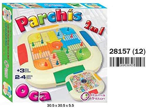RAMA TRITTON- Juego PARCHIS 4 Y OCA, (28157)
