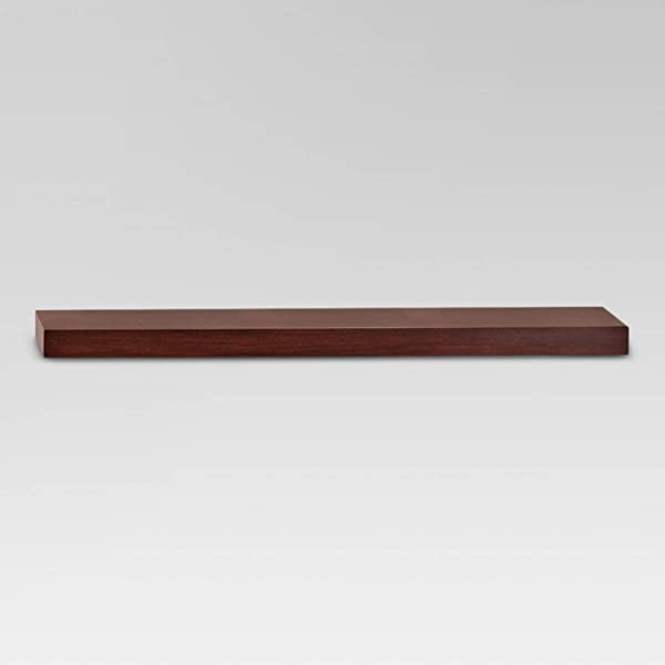 Modern Shelves Assorted Sizes And Colors Threshold Espresso 35