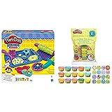 Play Doh Cookie Creations (Hasbro, B0307Eu9) + Bolsa De 15 Mini Botes (Hasbro 18367Eu5) , Color/Modelo Surtido