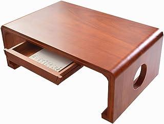 Mesa de Centro Que Quema Paulownia Mesa de cajón Estilo japonés Tatami Mesa de Almacenamiento Zen Mesa de té Ventana...