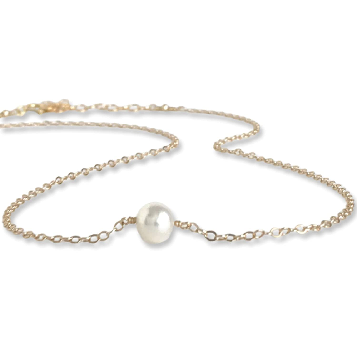 Gold Pearl Choker Necklaces Ranking TOP17 for Necklace Adj Women Single Popular product
