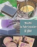 Diario de fabricación de jabón: Cuaderno de bitácora del jabonero para rastrear y crear lotes, recetas, fotos | registrar su progreso | cuaderno | ... | proceso de frío natural | ideal como regalo