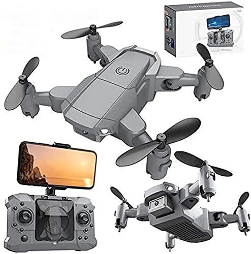 WASHULI Drone for Adulti con 4k uhd. Fotocamera WiFi, FPV. Quadcopter Pieghevole for Principianti con Motore brushless Ritorno a casa Seguimi GPS 2. *Batteria (Color : 4k Camera)