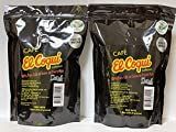 Cafe El Coqui Supremo, 1 lb - El Coqui Supreme Roasted Coffee Beans 100% Puerto Rican Coffee, 1 pound (2 pack)
