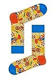 Calcetines felices, coloridos edición limitada Celebrity Collaboration calcetines de algodón para hombres y mujeres Wiz Khalifa: Noche Pretty L