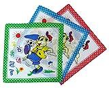 CKM Kinder-Taschentuch 3er Pack