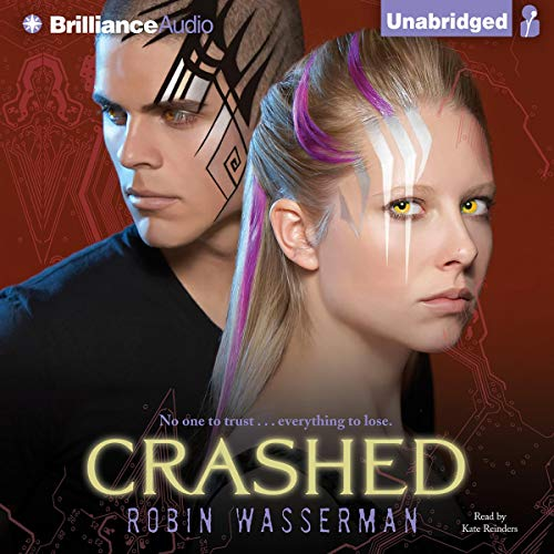 Crashed audiobook cover art