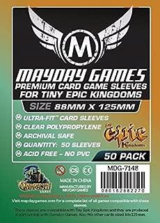 Tiny Epic Kingdom Sleeves(88x125mm)-50 Premium