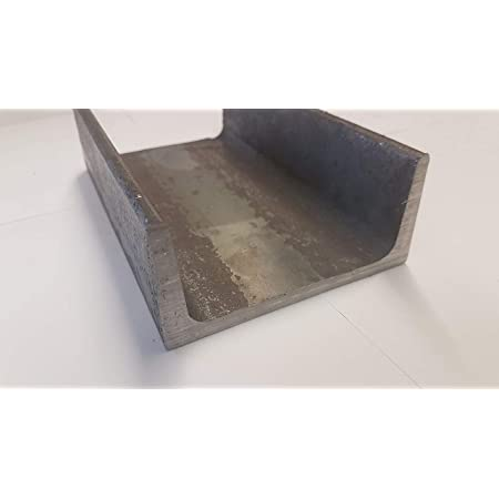 Bordwandprofil Einfassprofil Rohstahl unbehandelt B/&T Metall Stahl U-Profil 25 x25 x 1,5 mm gleichschenklig in L/ängen /à 1000 mm 0//-3 mm S235 1.0038 ST37