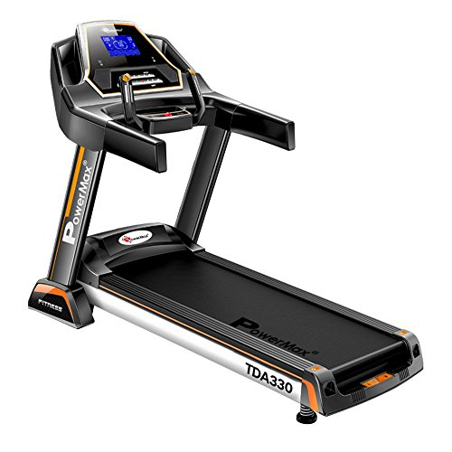PowerMax Fitness TDA-330 Series (3.0HP) DC Motorised, Electric Treadmill (FREE INSTALLATION)【Auto...