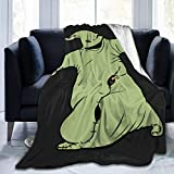 purl zither Nightmare Before Christmas Boogie Oogie Super Cheap Soft Flannel Throw Blanket. Lightweight Shaggy Air Conditioner Blanket Cooling Blankets Cooling Summer Blanket Towel Blanket for Couch