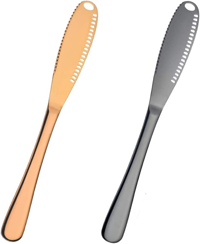 MOOZON Excellent Multi-function Stainless Steel with Jacksonville Mall Knife Butter Serrated