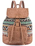 Lily Queen Fashion Small Purse Backpack Lightweight for Women and Teen Girls Colorful