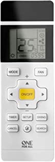 One For All   Universelle Fernbedienung für die Klima Anlage   mit LCD Schirm  weiß   URC1035
