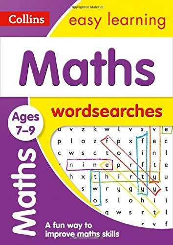 Maths Word Searches Ages 7-9: Ideal for Home Learning (Collins Easy Learning KS2)