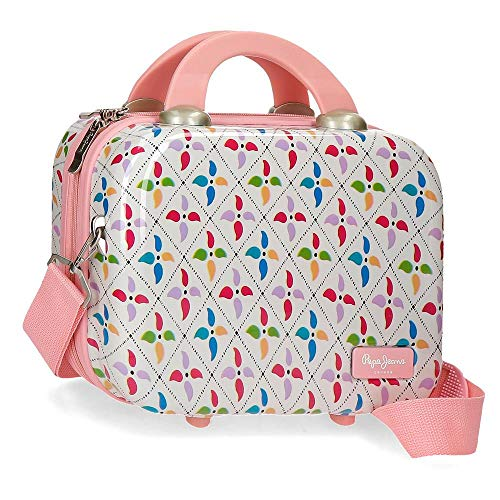 Pepe Jeans Tina Nececer Adaptable Multicolor 33x25x14 cms ABS