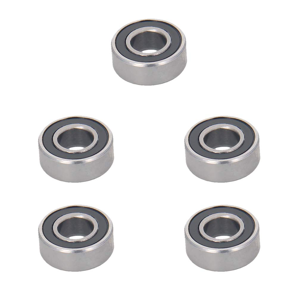 Steel Nylon Bearing Cage Ball Bearings P0 3x8x3mm Othmro Deep Groove Ball Bearing 10PCS MR83ZZ