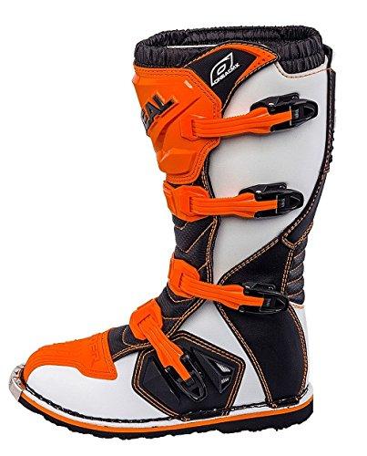 O'Neal Rider Boot MX Stiefel Orange Moto Cross Motorrad Enduro, 0329-3, Größe 45 - 2
