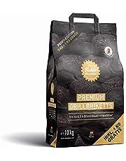 Die Kohle-Manufaktur Premium 10 kg grillbrikett, svart