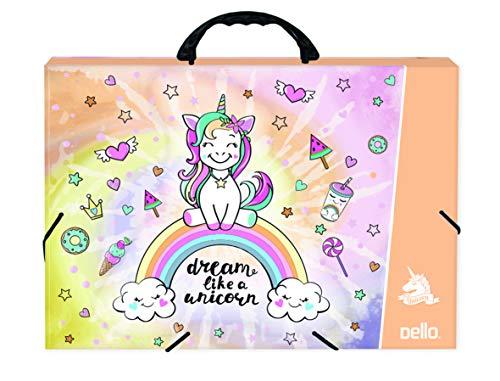 Maleta Oficio Kids Unicornio, Dello, 2161.01.0005, Unicornio