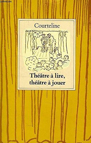 Théâtre à lire, théâtre à jouer