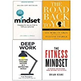 Mindset, Road Back To You, Deep Work, Fitness Mindset 4 Books Collection Set